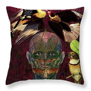 You Always Had The Power Solar Throw Pillow by Joseph Mosley