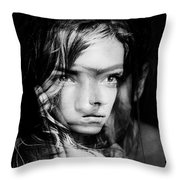 You Always Were A Thinker Mary Lou. Throw Pillow