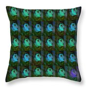 You And Your Strange Colour Ways Throw Pillow