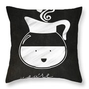 You Are Brewtiful Throw Pillow