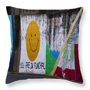 You Are In Throw Pillow