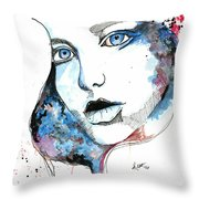 You Are My Universe Throw Pillow
