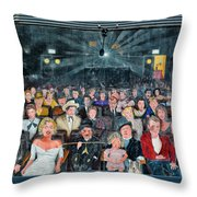 You Are The Star Mural Hollywood Throw Pillow