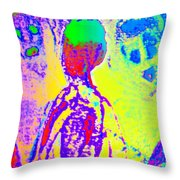 You Are Wondering About   Throw Pillow