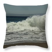 You Came Crashing Into Me Throw Pillow by Laurie Search