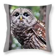 You Can Call Me Owl 2 Throw Pillow