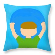 You Can Carry The Moon 101 Throw Pillow