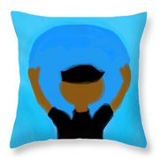 You Can Carry The Moon 102 Throw Pillow