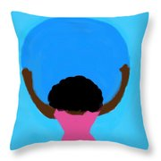 You Can Carry The Moon 103 Throw Pillow