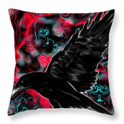 You Can Crow Your Own Way Throw Pillow