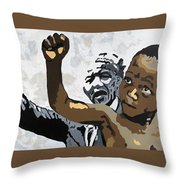 You Can Overcome Throw Pillow