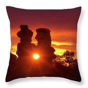 You Can Preach A Better Sermon With Your Life Than With Your Lips. Throw Pillow