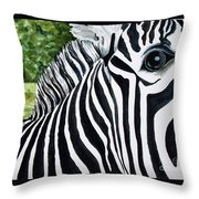 You Can Run But You Can't Hide Throw Pillow