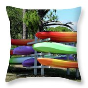 You Canoe I Can Too Throw Pillow