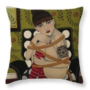 You Can't Hold Me Back Throw Pillow