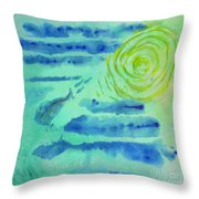 You Can't Save A Fish From Drowning Throw Pillow