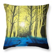 You Cant See The Forest For The Trees Throw Pillow