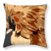 You Chicken Two Throw Pillow