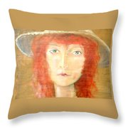 You Found My Hat Throw Pillow