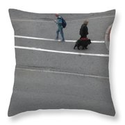 You Go Your Way Throw Pillow