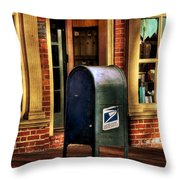 You Got Mail Throw Pillow by Todd Hostetter