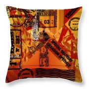 You Got Me Coming And Going Throw Pillow