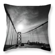 You Have Arrived Throw Pillow