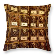 You Have Mail Throw Pillow