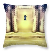You Hold The Key Throw Pillow