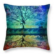 You Left Me Here Waiting Throw Pillow