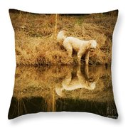You Look Just Like Me Throw Pillow