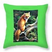 You Look'n At Me? Throw Pillow