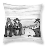 You Lose Your Phone Again Throw Pillow