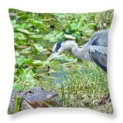 You Missed Throw Pillow
