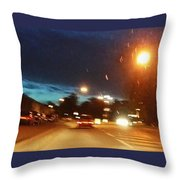 You Need To Stay Focused Throw Pillow