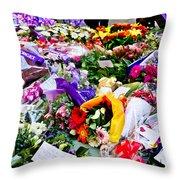 You Never Be Forgotten  Throw Pillow