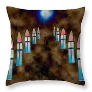 You Pray For Throw Pillow