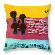 You River Throw Pillow