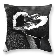 You Scratch My Back... Throw Pillow