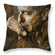 You Want It Darker Throw Pillow