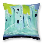 You Wonder Why We Left? Throw Pillow