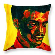 Young African Man Throw Pillow