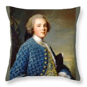 Young Boy Percy Wyndham Throw Pillow