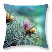 Young Cedar Throw Pillow
