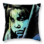 Young Child Throw Pillow