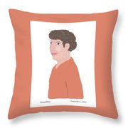Young Davy Throw Pillow