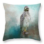 Young Eyes Throw Pillow