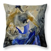 Young Girl 450150 Throw Pillow