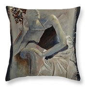 Young Girl 4501502 Throw Pillow