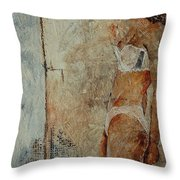 Young Girl  563548 Throw Pillow